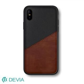 Devia iWallet ケース ブラック iPhone X