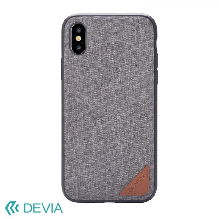 【iPhone Xケース】Devia Acme ケース グレー iPhone X_0