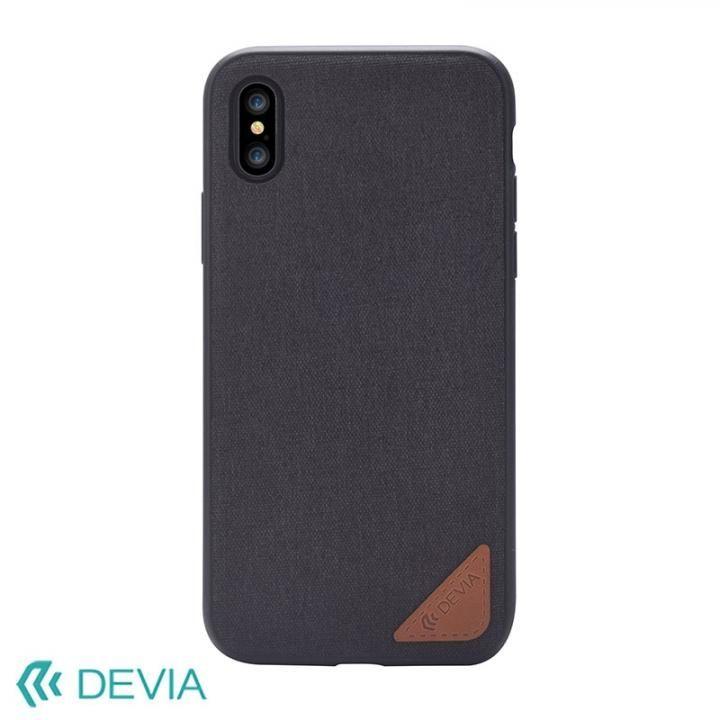【iPhone Xケース】Devia Acme ケース ブラック iPhone X_0