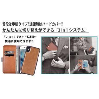 【iPhone Xケース】Devia Magic 2 in 1 手帳型ケース ブラウン iPhone X_7