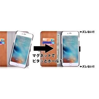 【iPhone Xケース】Devia Magic 2 in 1 手帳型ケース ブラウン iPhone X_8