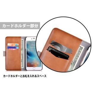【iPhone Xケース】Devia Magic 2 in 1 手帳型ケース ブラウン iPhone X_10