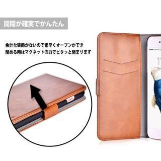 【iPhone Xケース】Devia Magic 2 in 1 手帳型ケース ブラウン iPhone X_12