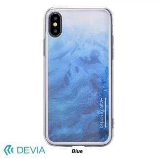 Devia Mirror ケース ブルー iPhone X