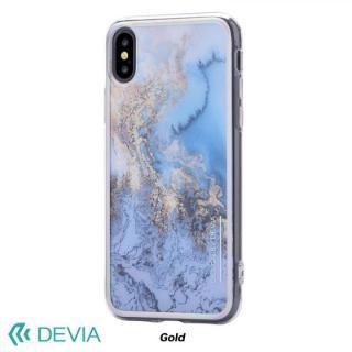 【iPhone Xケース】Devia Mirror ケース ゴールド iPhone X_1