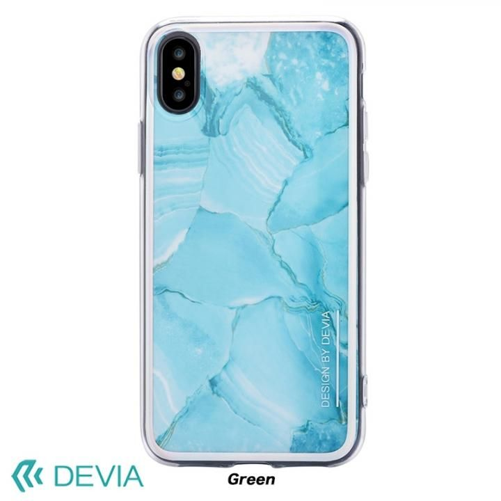 【iPhone Xケース】Devia Mirror ケース グリーン iPhone X_0