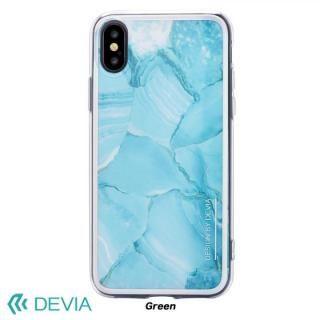 Devia Mirror ケース グリーン iPhone X