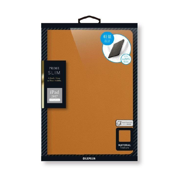薄型・軽量フラップケース 「PRIME SLIM」 キャメル iPad Pro 12.9インチ_0