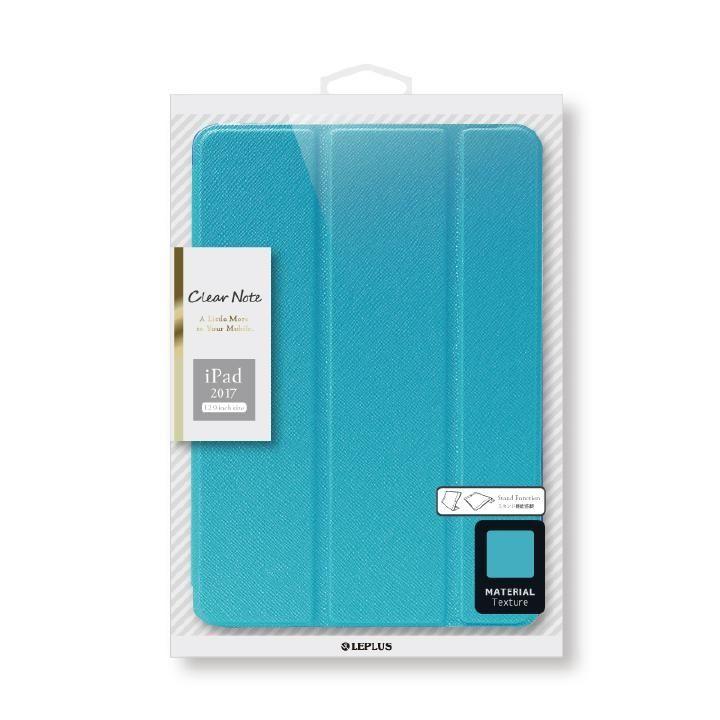 背面クリアフラップケース 「Clear Note」 ブルー iPad Pro 12.9インチ_0