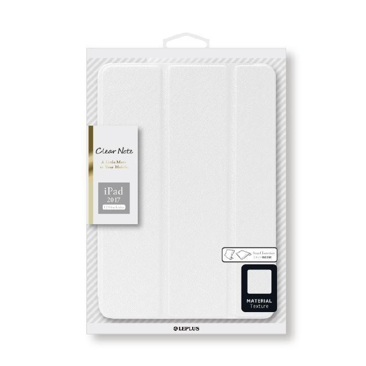背面クリアフラップケース 「Clear Note」 ホワイト iPad Pro 12.9インチ_0
