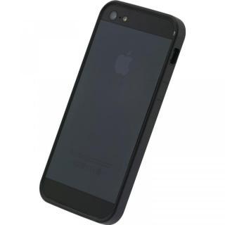 フラットバンパーセット  iPhone5(ブラック)