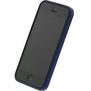 フラットバンパーセット  iPhone5(メタリックブルー)