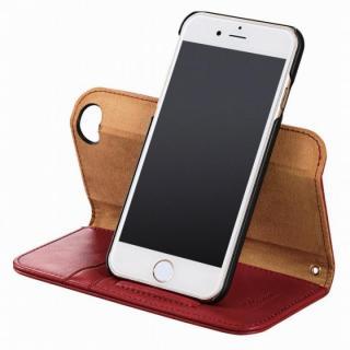 【iPhone6sケース】360度回転スタンド ソフトレザー手帳型ケース ブラック iPhone 6s_4