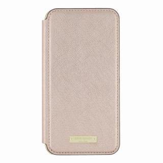 kate spade new york 手帳型ケース ローズゴールド iPhone 8 Plus/7 Plus