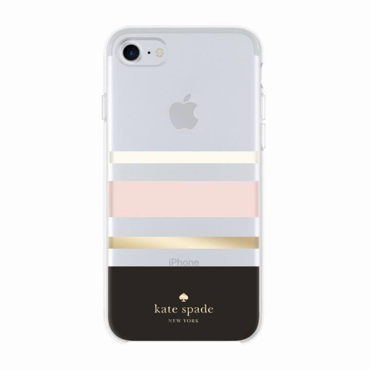 kate spade new york ハードケース Charlotte Stripe iPhone 8/7/6s/6