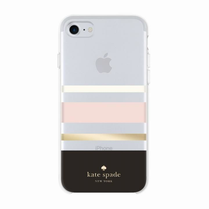 kate spade new york ハードケース Charlotte Stripe iPhone 8/7/6s/6