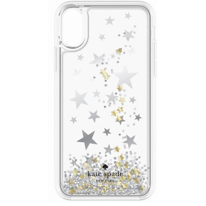 【iPhone Xケース】kate spade new york ラメグリッターリキッドケース キラキラ星 iPhone X_0