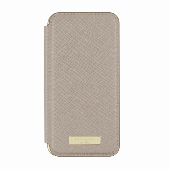kate spade new york 手帳型ケース グレイ iPhone 8/7