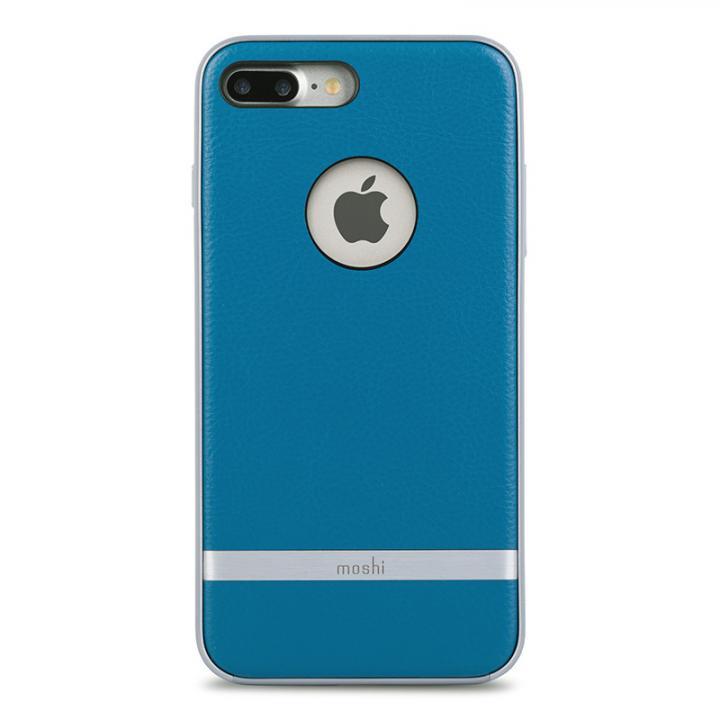 iPhone7 Plus ケース moshi Napa レザーレット ハイブリッドケース ブルー iPhone 7 Plus_0