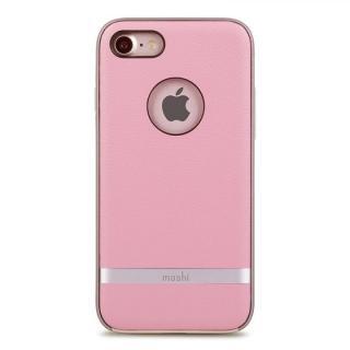 [2017夏フェス特価]moshi Napa レザーレット ハイブリッドケース ピンク iPhone 7
