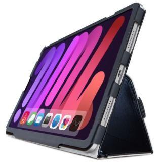 フラップケース ソフトレザー 2アングル 軽量 ブラック 8.3インチ iPad mini 第6世代