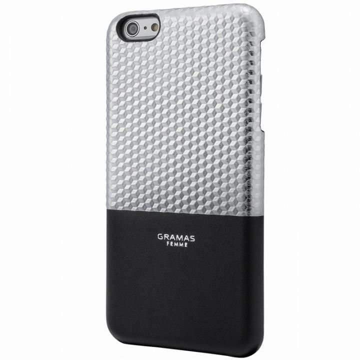 iPhone6s Plus/6 Plus ケース GRAMAS FEMME バックレザーケース Hex シルバー iPhone 6s Plus/6 Plus_0
