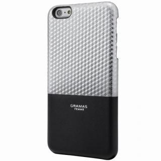 GRAMAS FEMME バックレザーケース Hex シルバー iPhone 6s Plus/6 Plus