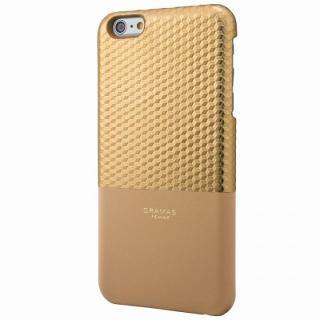 【iPhone6s Plus/6 Plusケース】GRAMAS FEMME バックレザーケース Hex ゴールド iPhone 6s Plus/6 Plus