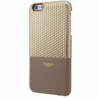 GRAMAS FEMME バックレザーケース Hex シャンパン iPhone 6s Plus/6 Plus