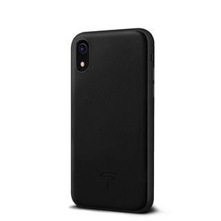 iPhone XR ケース エプソン 背面牛本革ケース  ブラック iPhone XR