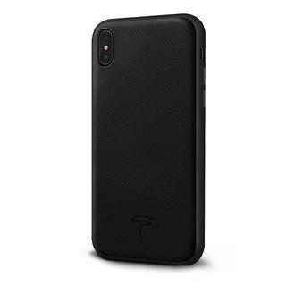 【iPhone XS Maxケース】エプソン 背面牛本革ケース  ブラック iPhone XS Max