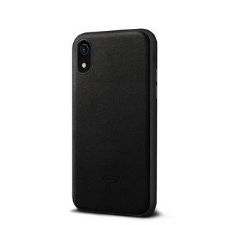 アルカンターラ 背面ケース ブラック iPhone XR