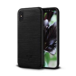 iPhone XS/X ケース グラーノ ケース ブラック iPhone XS/X