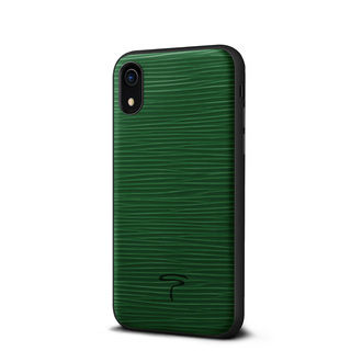 【iPhone XRケース】グラーノ ケース グリーン iPhone XR