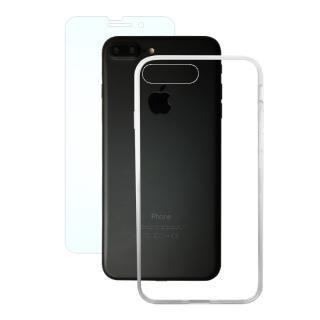 AppBank Store特別セット A+ Clear Panel Case/マックスむらいのアンチグレアフィルムセット iPhone 8 Plus/7 Plus