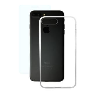 AppBank Store特別セット A+ Clear Panel Case/クリスタルアーマー 0.15mm強化ガラスセット iPhone 8 Plus/7 Plus