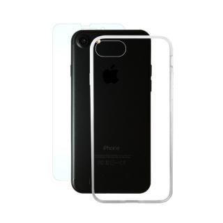 iPhone8/7 ケース AppBank Store特別セット A+ Clear Panel Case/マックスむらいのアンチグレアフィルムセット iPhone 8/7