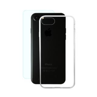 AppBank Store特別セット A+ Clear Panel Case/クリスタルアーマー 0.15mm強化ガラスセット iPhone 8/7
