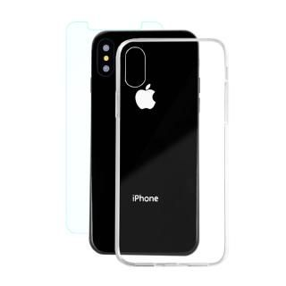 AppBank Store特別セット A+ Clear Panel Case/クリスタルアーマー 0.15mm強化ガラスセット iPhone X【10月下旬】