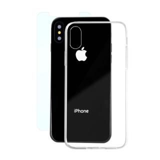 AppBank Store特別セット A+ Clear Panel Case/マックスむらいのアンチグレアフィルムセット iPhone X