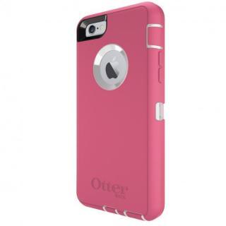 iPhone6s/6 ケース 耐衝撃ケース OtterBox Defender ホワイト/ハイビスカスピンク iPhone 6s/6