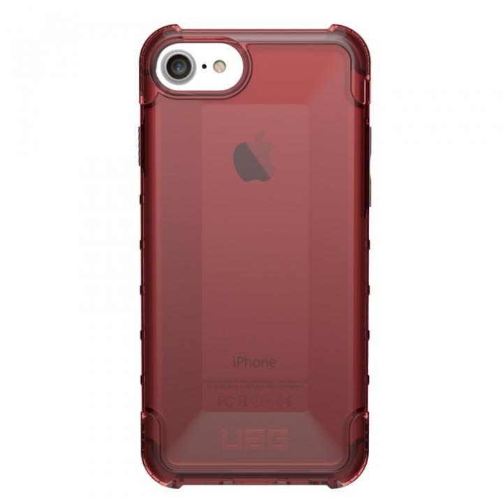 iPhone8/7 ケース UAG Plyo Case 耐衝撃クリアケース クリムゾン iPhone 8/7/6_0