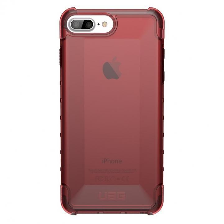 【iPhone8 Plus/7 Plusケース】UAG Plyo Case 耐衝撃クリアケース クリムゾン iPhone 8 Plus/7 Plus_0