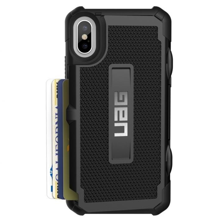 【iPhone Xケース】UAG Trooper Case 耐衝撃ケース ブラック iPhone X_0