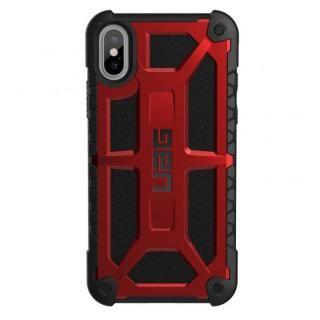 UAG Monarch Case 耐衝撃ケース クリムゾン iPhone X