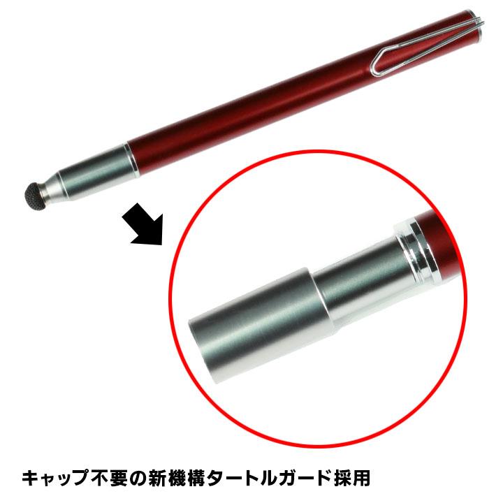 キャップ不要でペン先保護 Su-Pen P201S-T9NR ネオンレッド_0