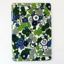 スマホの洋服屋 レトロフラワー ブルー iPad mini/2/3ケース