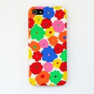 スマホの洋服屋 スプラッシュ ホワイト iPhone SE/5s/5ケース