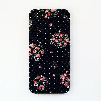 iPhone SE/5s/5 ケース スマホの洋服屋 ローテローゼ ネイビー iPhone SE/5s/5ケース_0