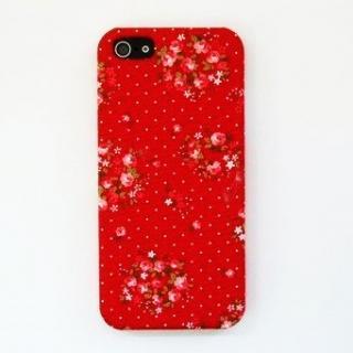 【iPhone SE/5s/5ケース】スマホの洋服屋 ローテローゼ レッド iPhone SE/5s/5ケース